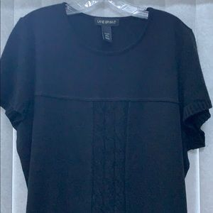Lane Bryant Knit Dress Black, Size 22/24